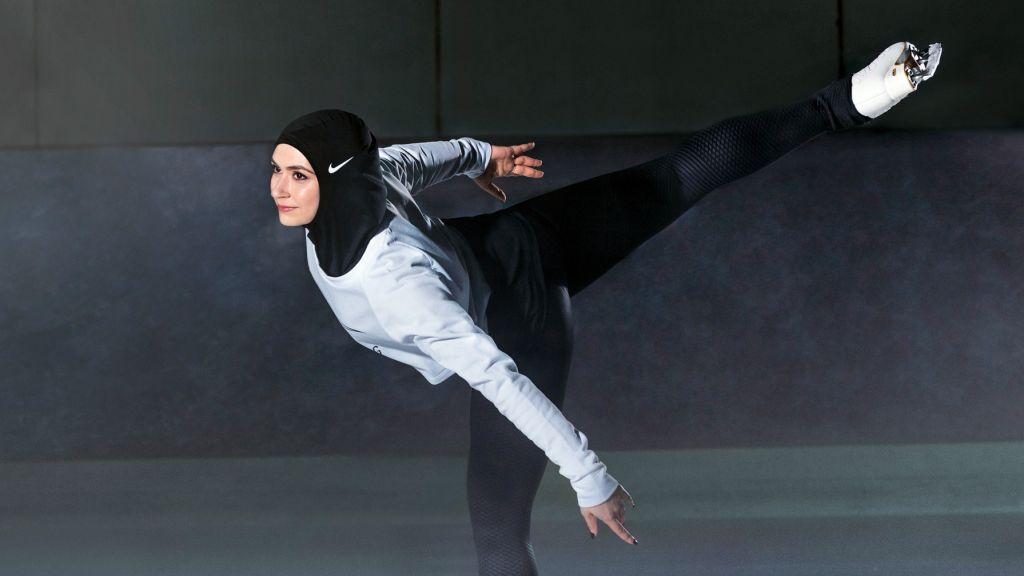 UAE figure skater Zahra Lari.